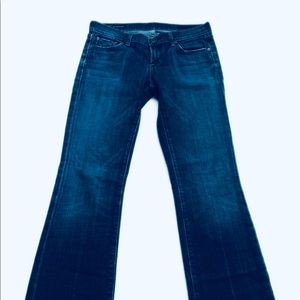 Citizens Of Humanity Jeans - Citizens of Humanity Kelley #001 Low Rise Boot Cut